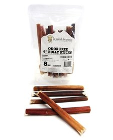 "NDC 6"" Odor Free Bully Sticks 8 oz"