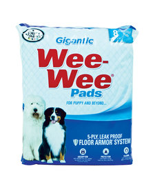 Four Paws Wee Wee Pads Gigantic 8 ct