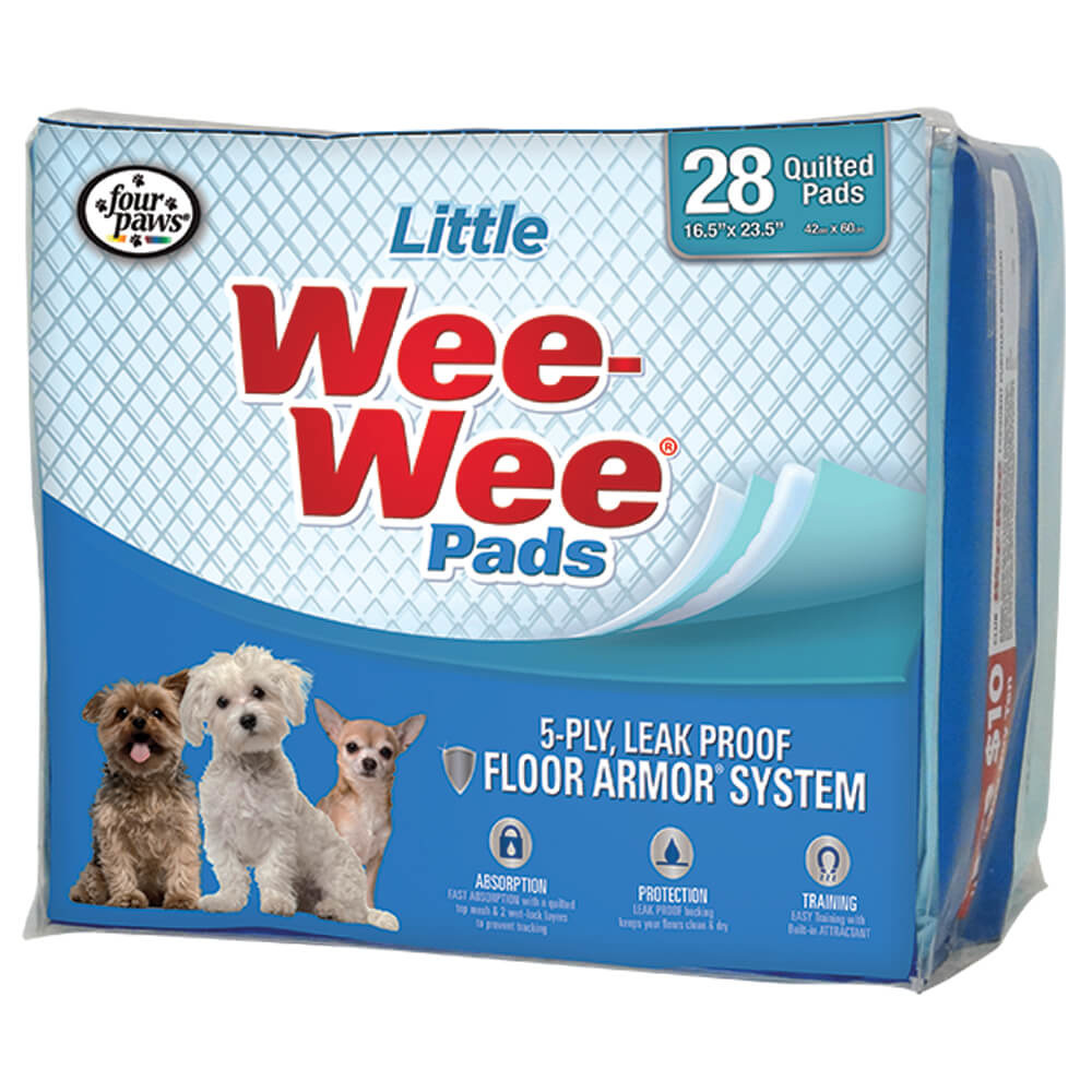 Four Paws Products LTD Four Paws 28 ct Little Wee-Wee Pads