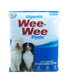 Four Paws Wee Wee Pads Gigantic 18 ct