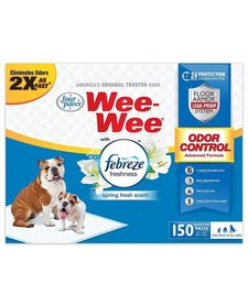Four Paws Wee-Wee Pads FB 150 ct