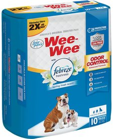 Four Paws Wee-Wee Pads FB 10 ct