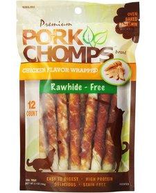Pork Chomps Chicken Twistz Mini 12 ct