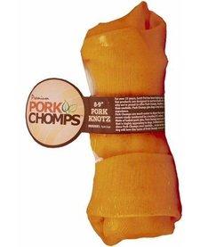 """Pork Chomps Smoked Porkskin Knotz 8-9"""""""