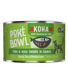 Koha Cat Poke Bowl Tuna Duck can 5.5 oz