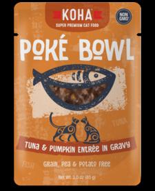 Koha Cat Pouch Poke Bowl Tuna & Pumpkin 3 oz