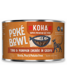 Koha Cat Poke Bowl Tuna Pumpkin can 5.5oz