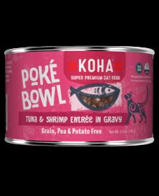 Koha Cat Poke Bowl Tuna Shrimp can 5.5 oz