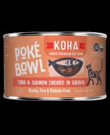 Koha Cat Poke Bowl Tuna Salmon can 5.5 oz