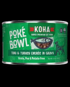 Koha Cat Poke Bowl Tuna Turkey 5.5 oz