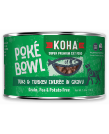 Koha Cat Poke Bowl Tuna Turkey can 5.5 oz