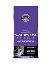 World's Best Multi -Cat Lavender 14lb