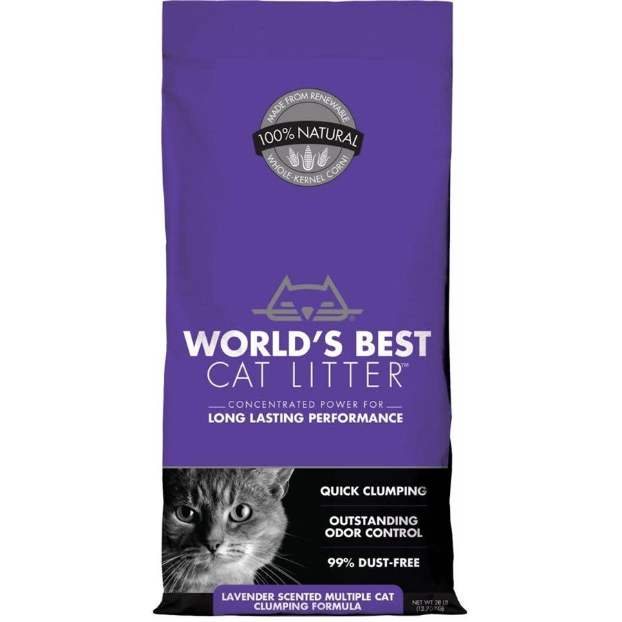 World's Best Multi -Cat Lavender 14lb