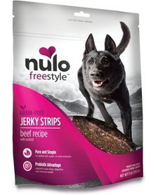 Nulo Freestyle Jerky Strips Beef Coconut 5 oz