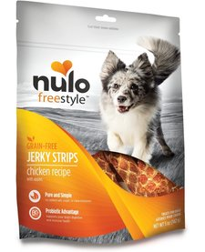 Nulo Freestyle Jerky Strips Chicken Apple 5 oz