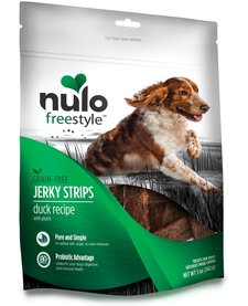 Nulo Freestyle Jerky Strips Duck Plum 5 oz