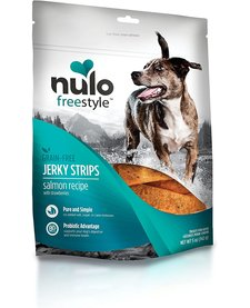 Nulo  Freestyle Jerky Strips Salmon Berry 5 oz