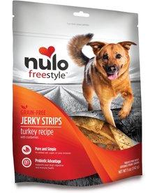 Nulo Freestyle Jerky Strips Turkey Cranberry 5 oz