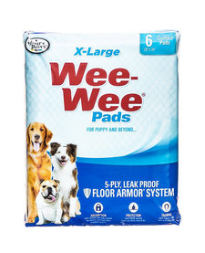 Four Paws Wee Wee Pads XL 6 ct