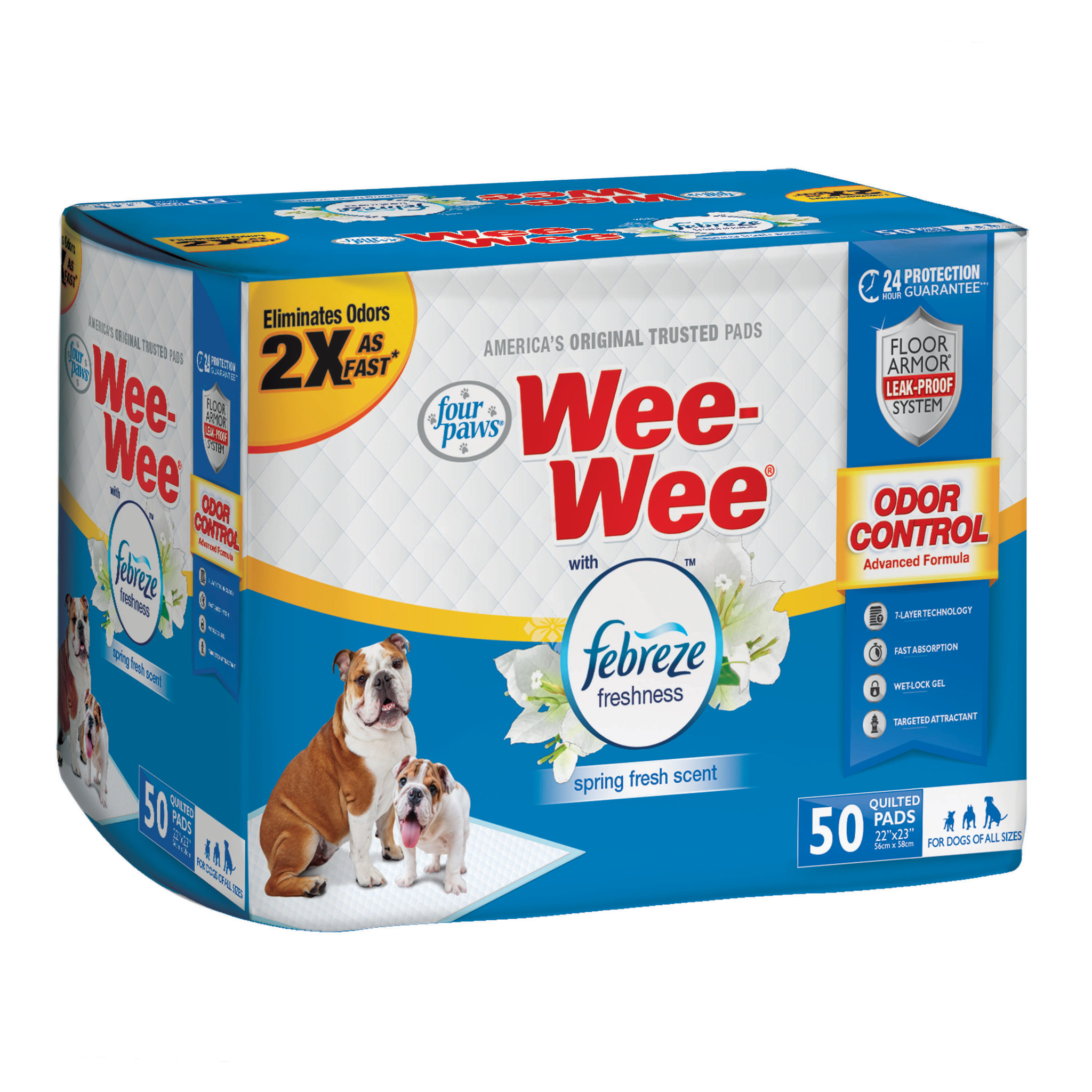 Four Paws Products LTD Four Paws Wee-Wee Pads 50ct