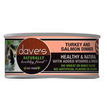 Dave's Dave's Cat Turkey & Salmon 5.5 oz