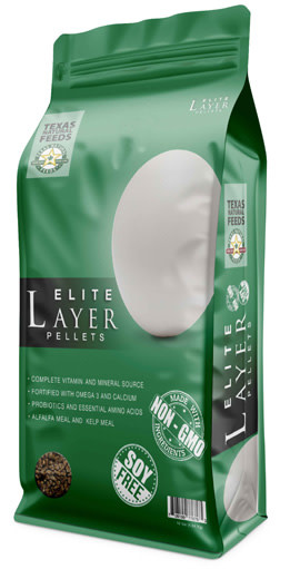 Texas Natural Feeds Texas Natural Elite Layer Pellet 50 lb