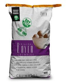 Texas Natural Layer Crumble 50lb