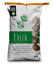Texas Natural Layer Pellets 50 lb
