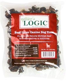 Nature's Logic Beef Liver 1 lb