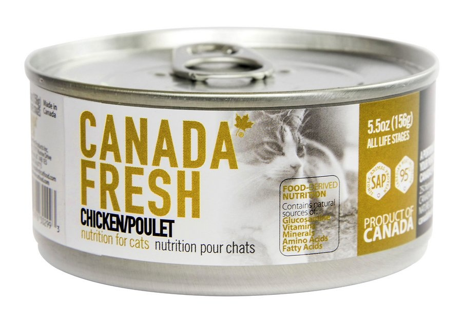 Petkind Pet Products Canada Fresh Cat Chicken 3 oz