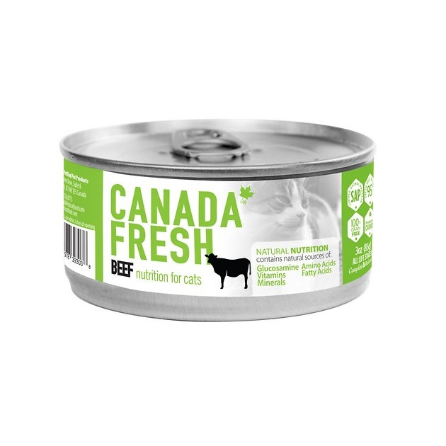 Petkind Pet Products Canada Fresh Cat Beef 3 oz