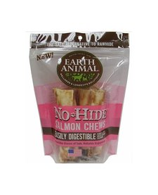 "Earth Animal No Hide Salmon 4"" 2 pk"