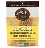 Earth Animal Earth Animal No Hide Peanut Butter Stix 1.6 oz