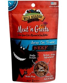 Meat 'n Greets Beef Jerky 2 oz