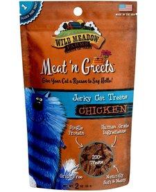 Meat 'n Greets Chicken Jerky 2 oz