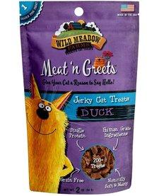 Meat 'n Greets Duck Jerky 2 oz