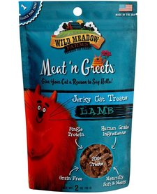 Meat 'n Greets Lamb Jerky 2 oz