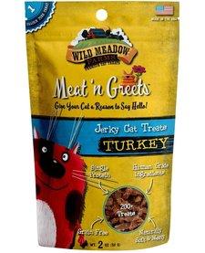 Meat 'n Greets Turkey Jerky 2 oz
