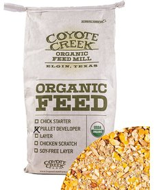 Coyote Creek Chicken Pullet Developer 50 lb