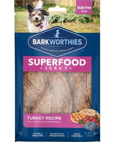 Barkworthie's Turkey Berry Jerky 4 oz