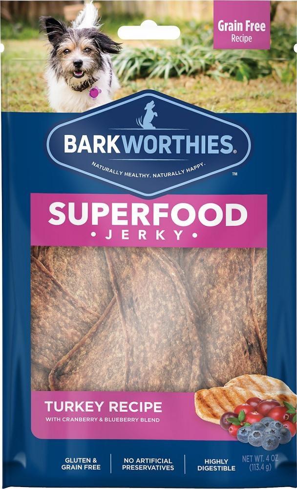 Barkworthie's Barkworthie's Turkey Berry Jerky 4 oz