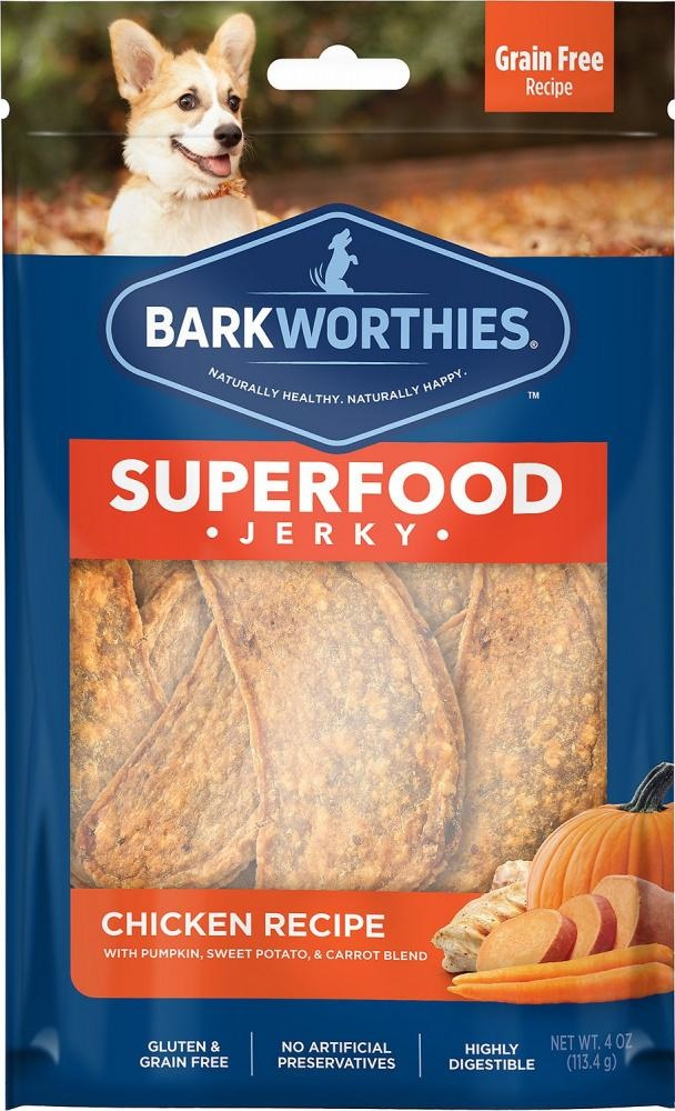 Barkworthie's Barkworthie's Turkey Pumpkin Jerky 4 oz