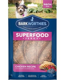 Barkworthie's Chicken Berry Jerky 4 oz