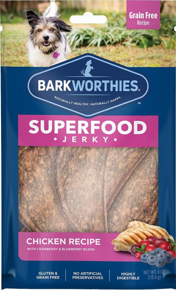 Barkworthie's Barkworthie's Chicken Berry Jerky 4 oz