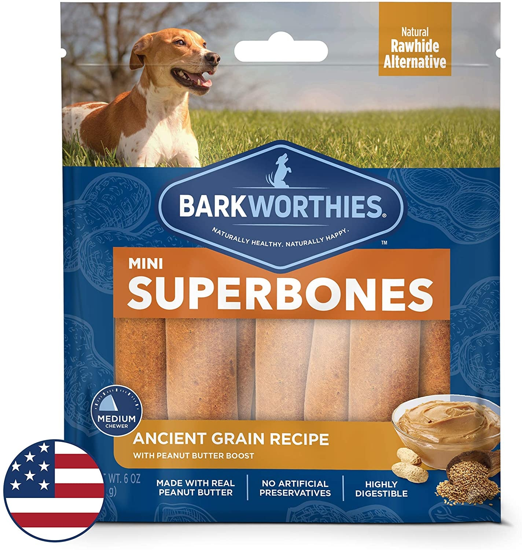 Barkworthie's BW Superbones Mini PB 12 ct