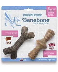 Benebone Stick Zaggler Puppy 2 Pack