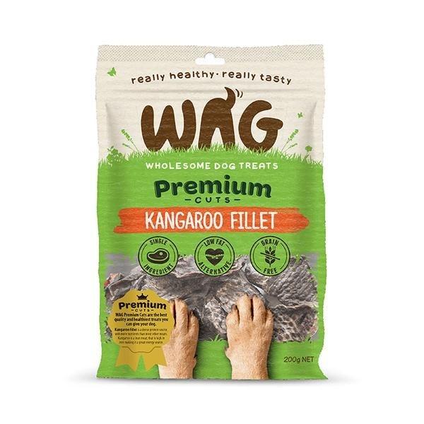 Wag Wag Kangaroo Fillet 200 g