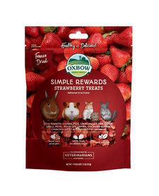 Oxbow Simple Rewards Treats Strawberry .5oz