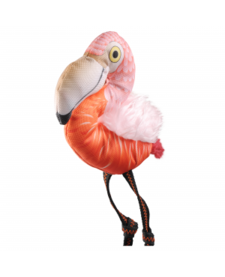 Happy Tails Loonies Flamingo
