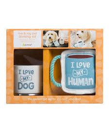 I Love My Human Gift Set